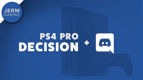 discord on ps4 here is the ps4 pro plan discord and patreon updates