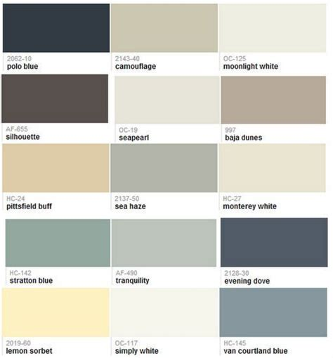 friday finds top 15 hirshfield s paint colors benjamin moore whole house paint color scheme by