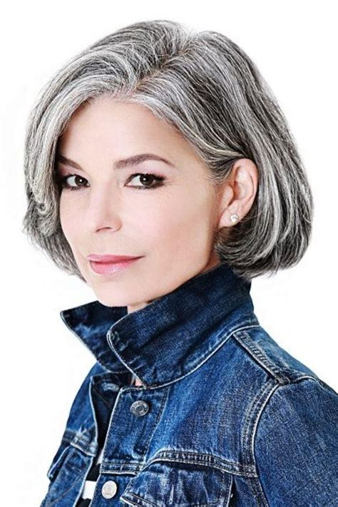 classic hairstyles for gray hair amazing gray hairstyles we love southern living