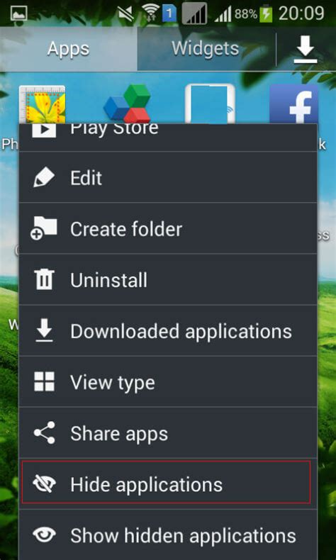 android hide apps how to hide apps from android screen without