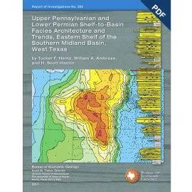 Eastern Shelf Permian Basin by Home Bureau Of Economic Geology