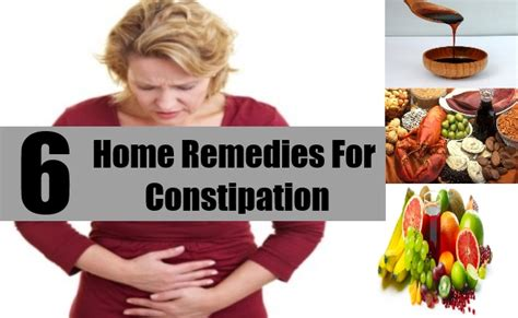 simple home remedies for constipation treatments