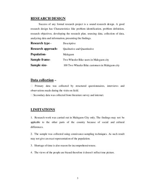 Mba Project Report On Customer Satisfaction Pdf by Customer Satisfaction Towards Honda Two Wheelers A