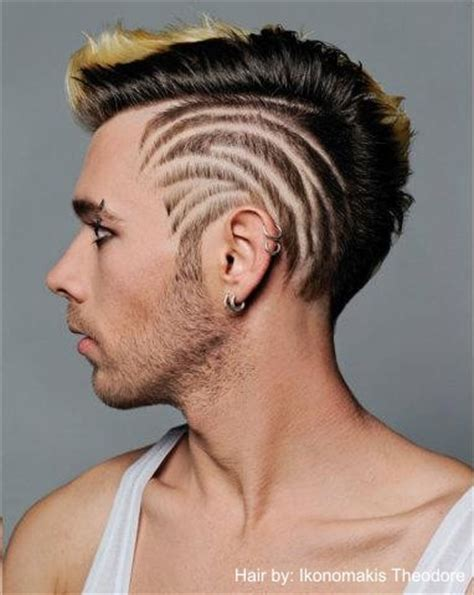 hair tattoos for men hairdressing hair by ikonomakis salons hair
