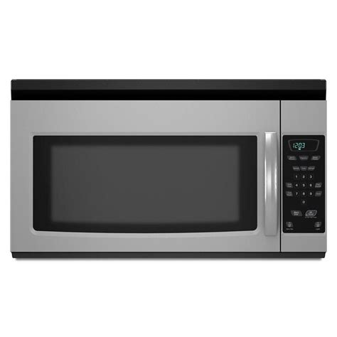 amana microwave ovens 1 5 cu ft the range microwave