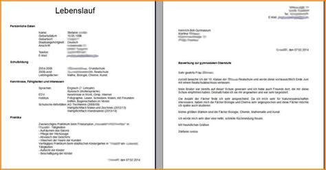 Bewerbung Deckblatt Anschreiben Lebenslauf Vorlage 6 Anschreiben Lebenslauf Resignation Format