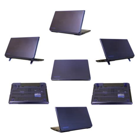 mcover ipearl shell for 15 6 inch toshiba satellite c55d c55 a series laptop blue