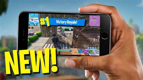 fortnite like on phone fortnite on your phone