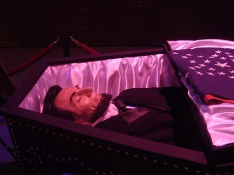 abraham lincoln in coffin size abraham lincoln laying in casket figure