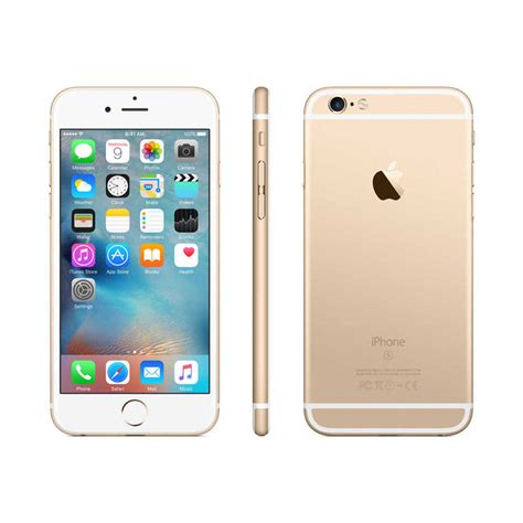 apple iphone  gb att locked gold smartphone