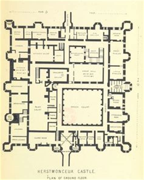 burghley house floor plan plan of burghley house england floor plans castles palaces pinterest house