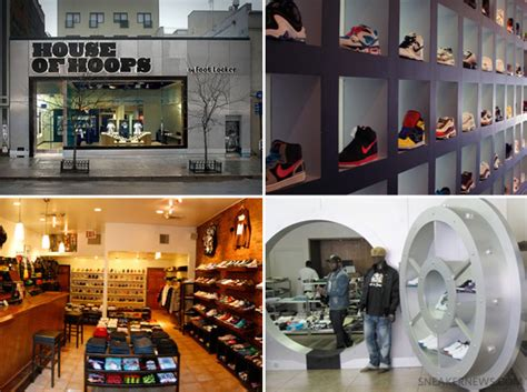 shoe stores nyc new york city sneaker stores sneakernews