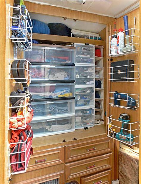 motorhome interior storage ideas best 25 rv organization ideas on rv storage