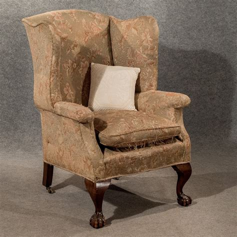 vintage wingback armchair antique large wing armchair wingback fire side antiques atlas