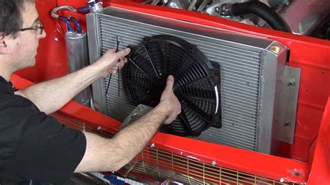 auxiliary electric fan youtube