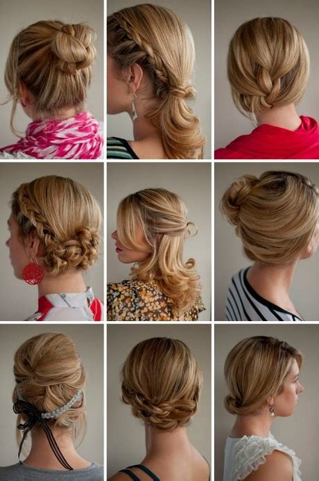 Easy Hairstyles For Everyday Of The Week | hairstyles for everyday of the week