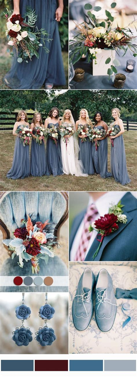 9 most popular wedding color schemes from to