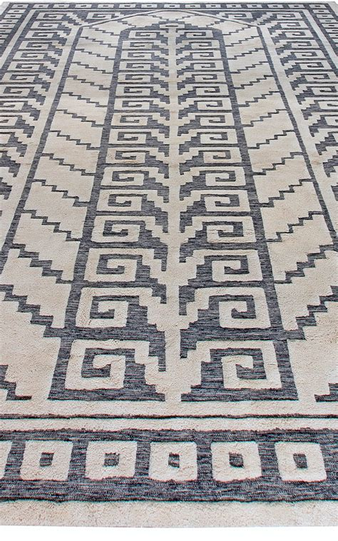 half rugs swedish half pile rug n11337 by doris leslie blau