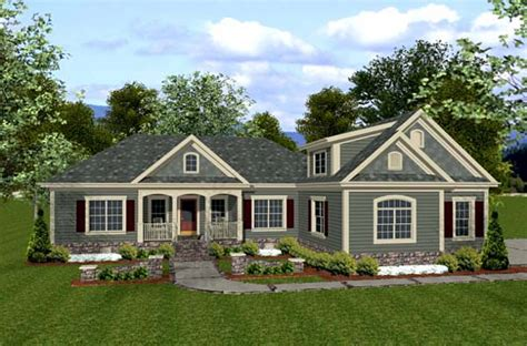 Craftsman Country House Plans by House Plan 92385 At Familyhomeplans Com