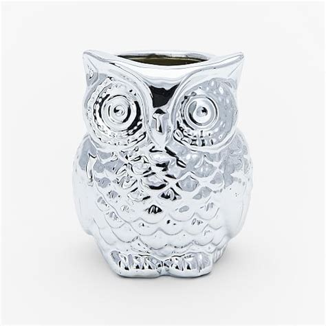 West Elm Owl L by Filled Owl Candles West Elm