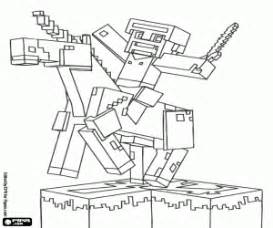 coloriage minecraft 224 imprimer