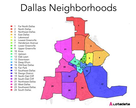 map of dallas texas neighborhoods city spotlight think you dallas