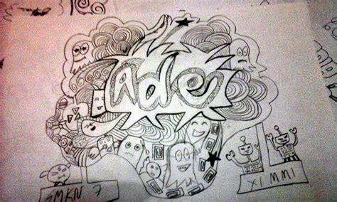 doodle nama anisa hilmy note s 1st day pkm alias praktik keterilan mengajar