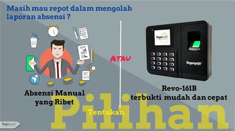 Revo 161b introduction mesin revo 161b fingerspot