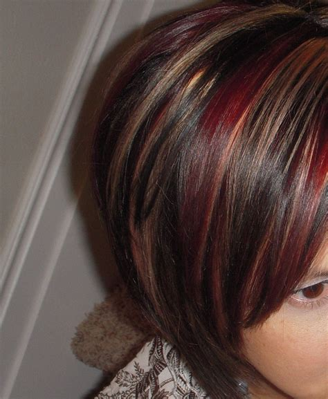 red hair with red highlights or lowlights red hair with highlights and lowlights red and blond