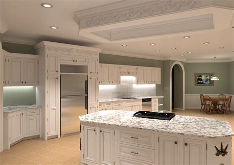 Two Tone Cabinets Kitchen by High End Kitchen Cabinets Decofurnish