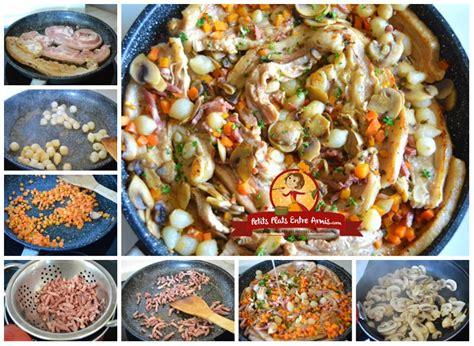 cuisine paysanne recette de tendrons de veau 224 la paysanne petits plats
