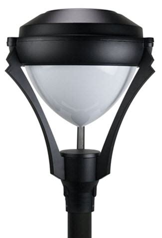 led post light fixture led contemporary post top light fixture led post top