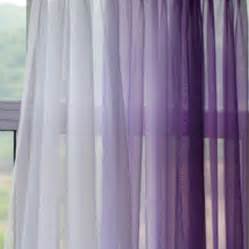Lilac Sheer Curtains Voile Silk Sheer Curtains