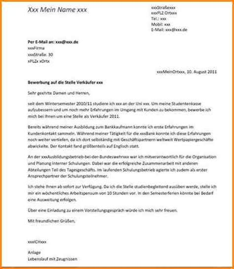 Ferienjob Bewerbung Aufbau 6 Anschreiben Ferienjob Questionnaire Templated