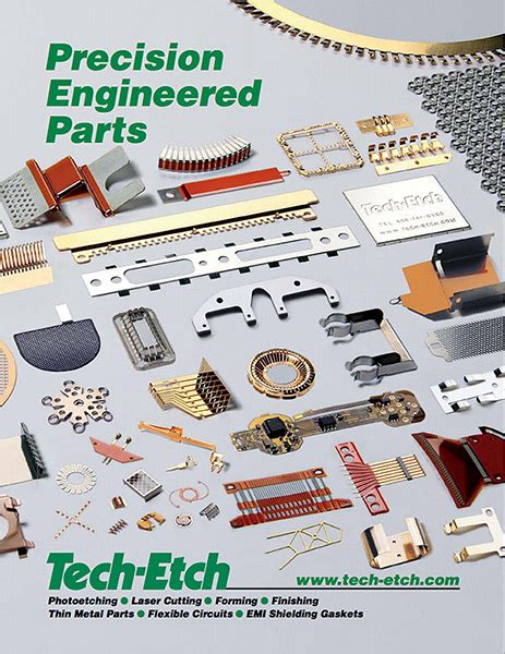 tech etch plymouth photo etching and forming brochure