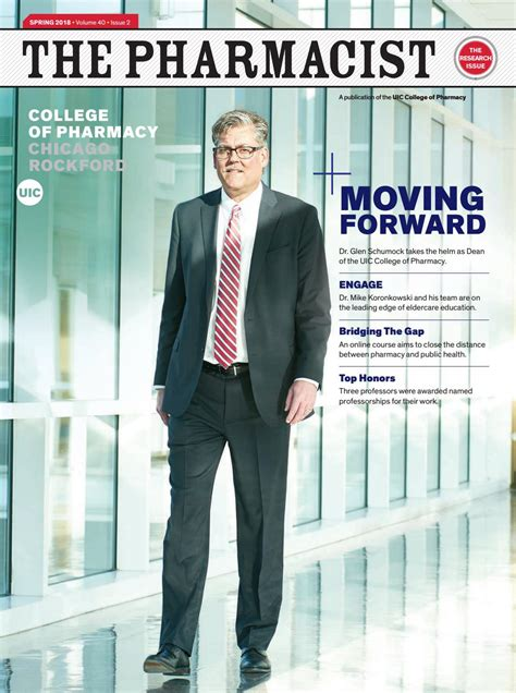 the pharmacist the research issue spring 2018 by uic