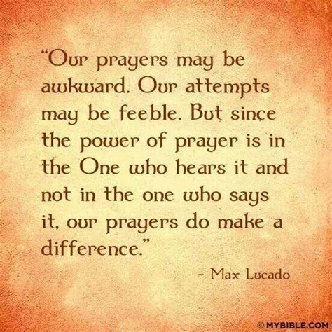 the power of prayingâ through fear prayer and study guide books max lucado quotes quotesgram