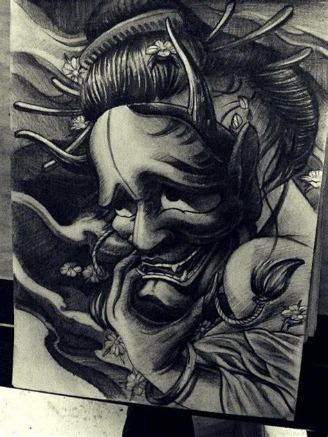 hannya mask tattoo wallpaper 143 best images about hannya mask design tattoo on