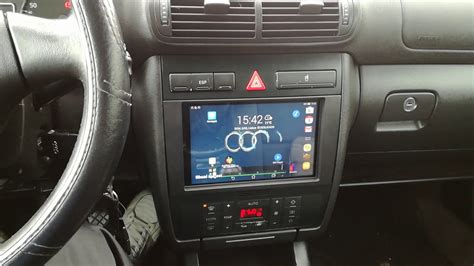Audi A3 8l Cup Holder by Tablet In Audi A3 8l Youtube