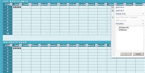 Free Recruitment Tracker Excel Template Spreadsheettemple Recruitment Tracker Excel Template