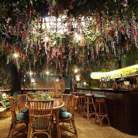 design house decor floral park ny sketch restaurant filled with immersive floral