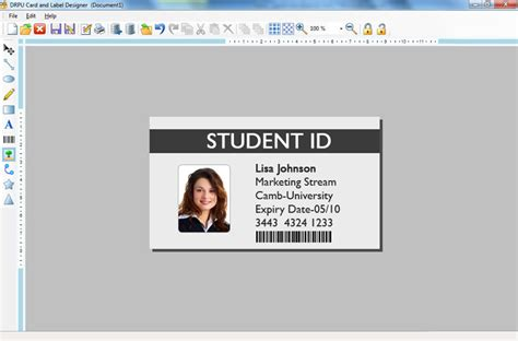business id template card design software make greeting business