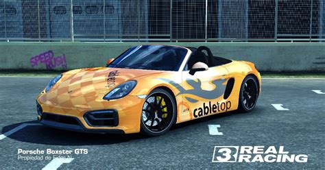 Porsche Boxster Tuning by Real Racing 3 Tuning Porsche Boxster Gts