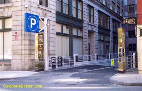 State Garage Boston by 75 State Garage With Broad Entrance In Boston