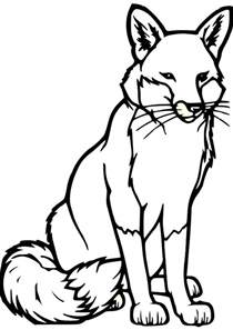 fox coloring book free coloring pages of fox mask