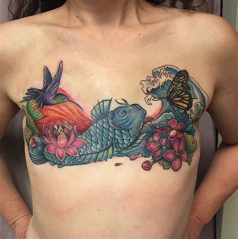 tattooed nipple after mastectomy top mastectomy scars images for tattoos