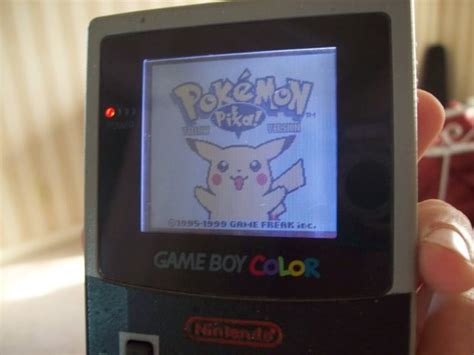 gameboy colour mod how to add a frontlight to your gameboy color