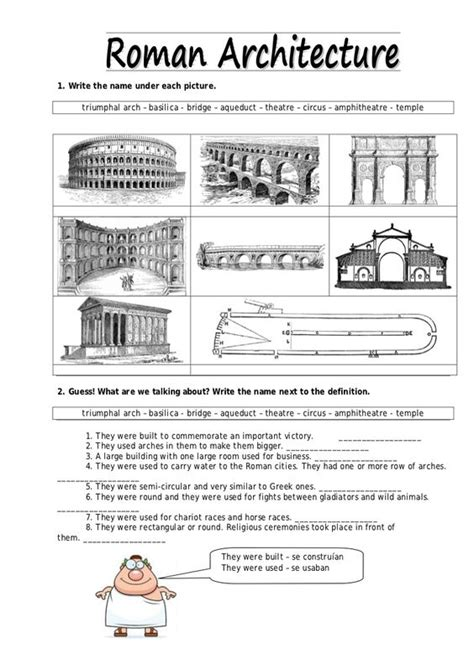 ancient rome worksheets ancient rome architecture ancient world history ideas architecture ancient