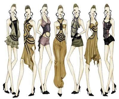design clothes and sell online clothing design sketches