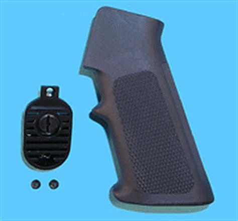 Gp Heat Sink Grip End For M16 Series Airsoft Aeg g p m16a2 grip with heat sink end set black for m4 m16 series airsoft aeg evike